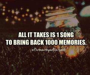 quote, memories, and song image