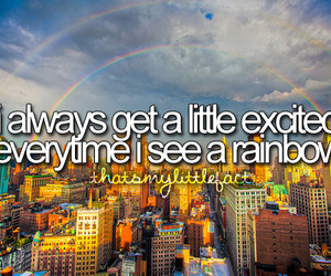 quote, rainbow, and thatsmylittlefact image