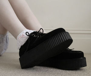 creepers, goth, and pastel image
