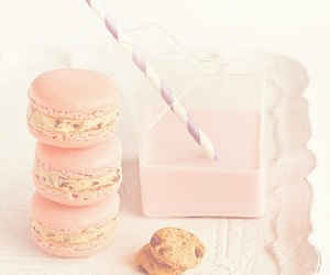 macaroons, pastel, and sweet image