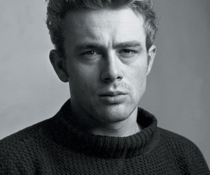 james dean, 50s, and black and white image
