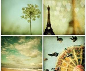 paris, vintage, and beach image