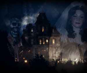 disney, victorian, and haunted mansion image