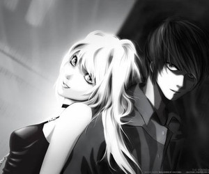 death note, anime, and misa image