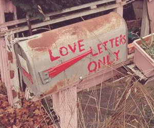 letters and love image