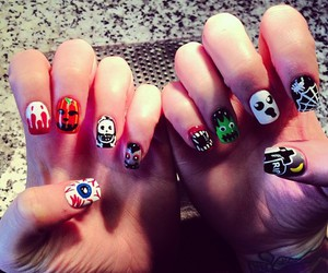 Halloween, hands, and nails image