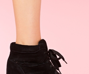 black, jeffrey campbell, and nasty gal image