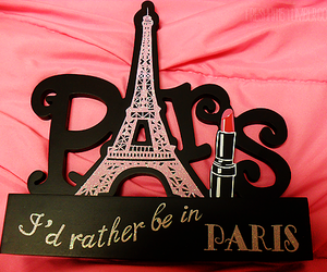 paris, pink, and photography image