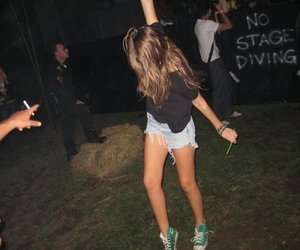 girl, party, and blonde image