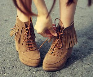 shoes, brown, and cool image
