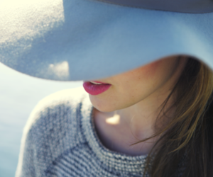 hat, girl, and fashion image