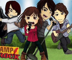 camp rock, demi lovato, and jonas brothers image