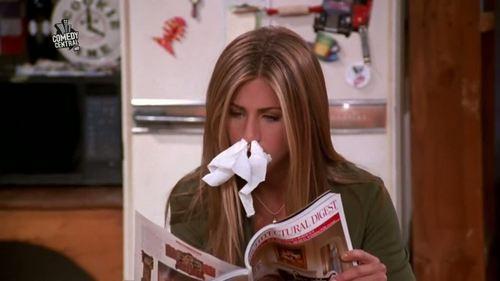disgusting, flu, and rachel image