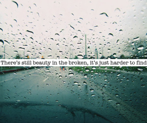 broken, beauty, and quote image