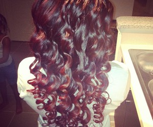 classy, curls, and hair image