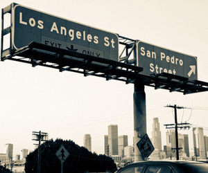 los angeles, city, and photography image