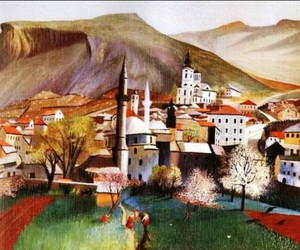 beautiful, hungary, and painting image