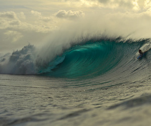 ocean, surf, and water image