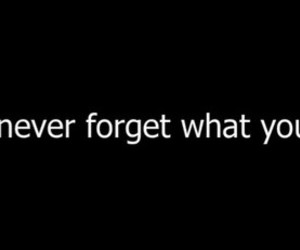 forget, you, and quote image