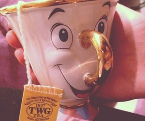 disney, cup, and tea image