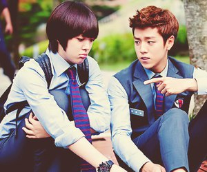 sulli, lee hyun woo, and to the beautiful you image