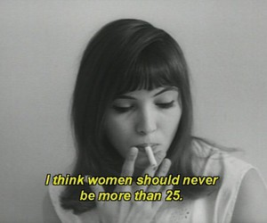 woman, quote, and anna karina image