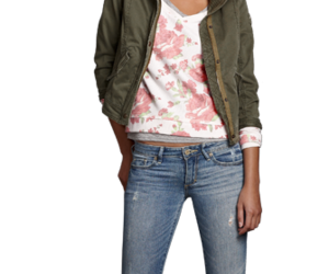 abercrombie and fitch, hollister, and jeans image