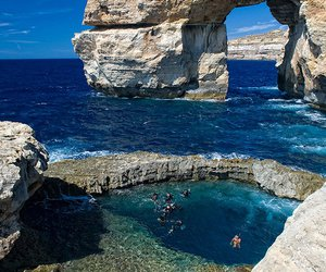 malta, sea, and travel image