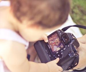 baby, camera, and kids image