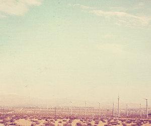 california, desert, and energy image