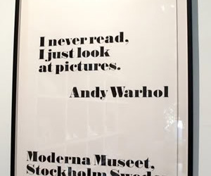 andy warhol and quote image