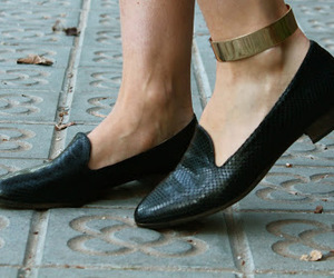 ankle, fashionable, and flats image