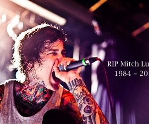 mitch lucker, suicide silence, and tattoo image