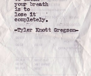quote, breath, and lose image