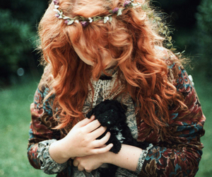 girl, ginger, and indie image