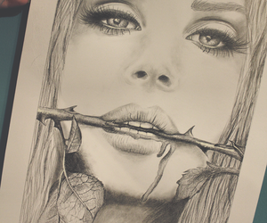 art, lana del rey, and drawing image