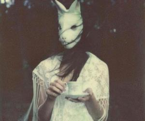 grunge, tea, and dark image