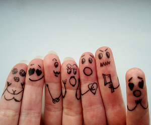 fingers and funny image