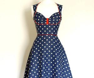 polka dots and vintage image
