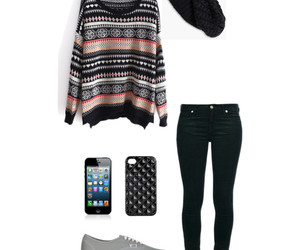 iphone, sweater, and cute image