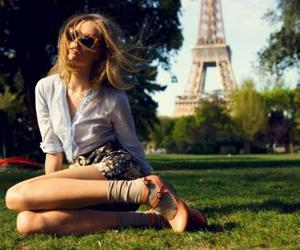 blond, love, and paris image