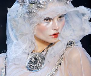 fashion, galliano, and haute couture image