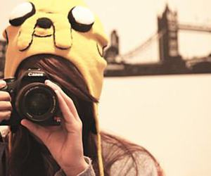 girl, camera, and adventure time image