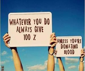 funny, blood, and quotes image