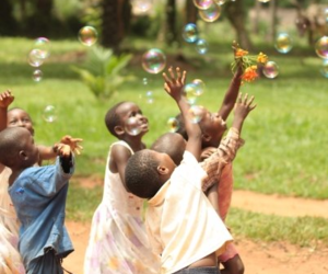 child, happy, and kids image