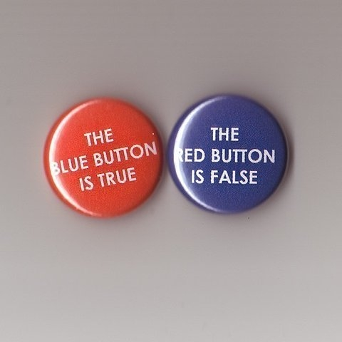 blue, red, and button image