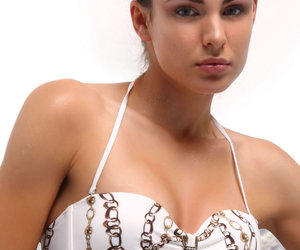jolidon, bandeau swimsuit, and sale discount image