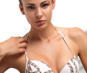 jolidon, underwire swimsuit, and two piece swimsuit image