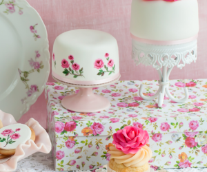 floral and cupcake image