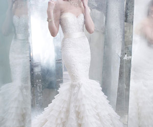 dress, wedding dress, and wedding dresses image